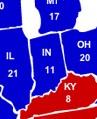 JUNE 12 ELECTORAL MAP