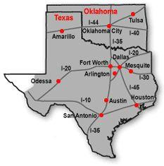 Texas_oklahoma_map